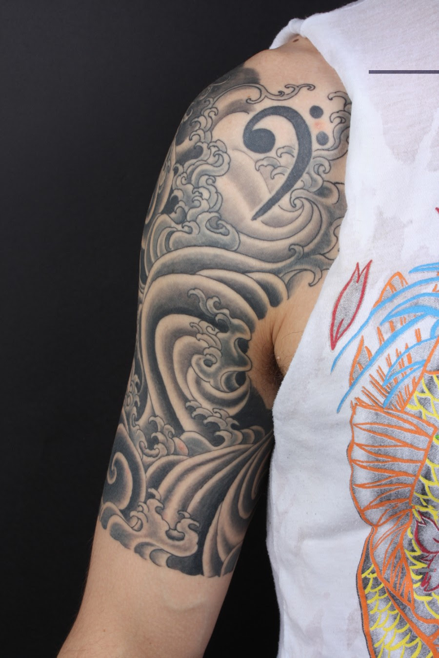 Great Tribal Quarter Sleeve Tattoo Design Tattoomagz