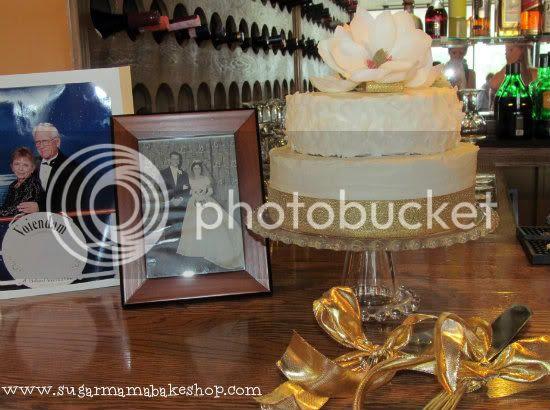 Sugar Mama Bakeshop: 50th anniversary cake