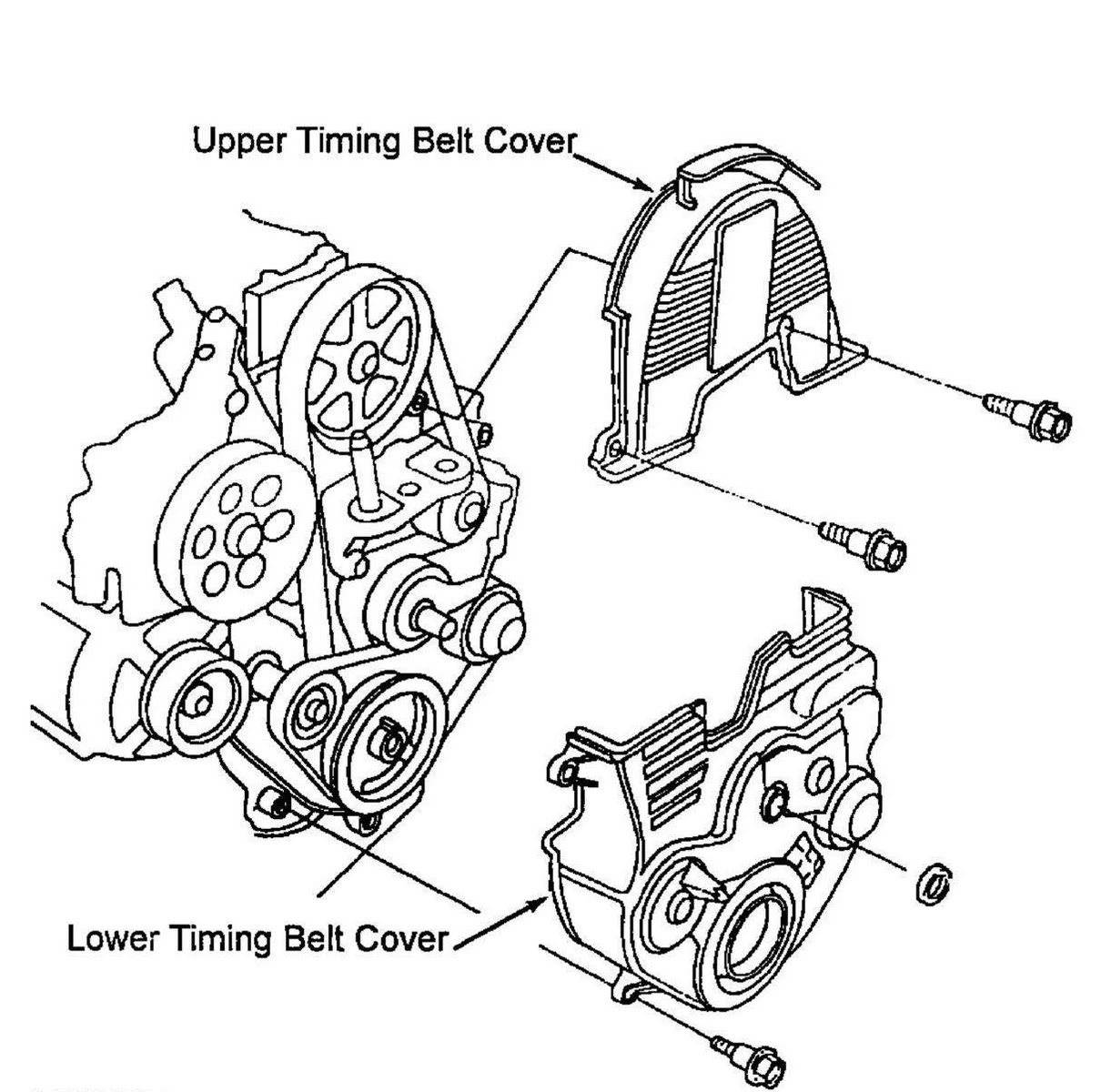 Honda Passport Questions - how do i replace water pump and ...