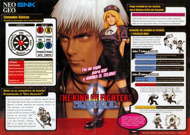 KOF 2000 Cómo jugar