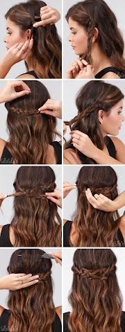 ? Quick Simple Formal Party Hairstyles For Long Hair DIY Ideas 2018