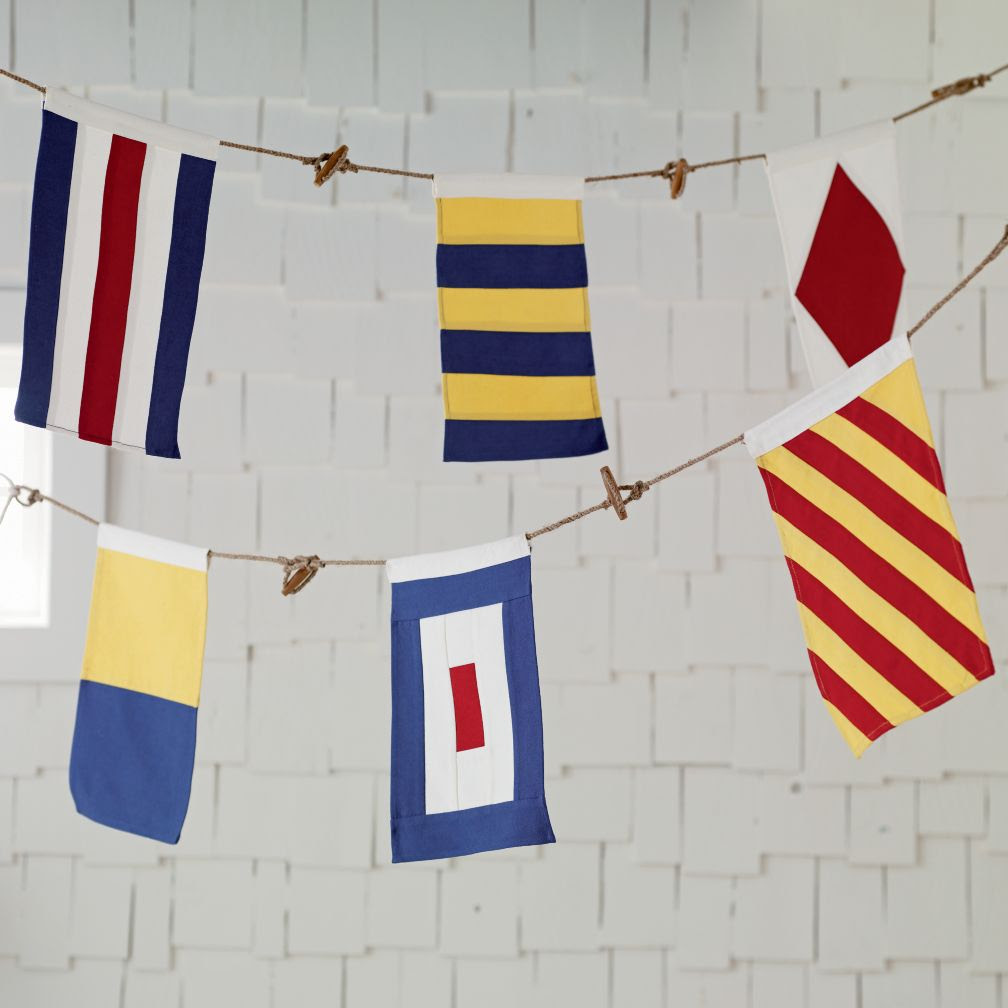 Nodical Nautical Flag Banner