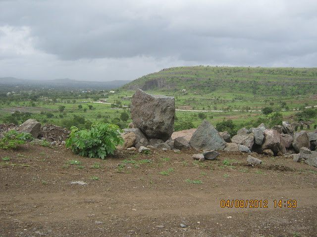 Cut, Demolished & Destroyed Hill of XRBIA Hinjewadi Pune - Nere Dattawadi, on Marunji Road, approx 7 kms from KPIT Cummins at Hinjewadi IT Park - 99