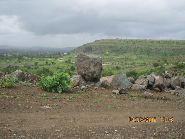 Cut, Demolished & Destroyed Hill of XRBIA Hinjewadi Pune - Nere Dattawadi, on Marunji Road, approx 7 kms from KPIT Cummins at Hinjewadi IT Park - 99