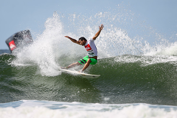 Michel Bourez - 2013 Quiksilver Pro Surfing; Snapper Rocks, Coolangatta, Gold Coast, Queensland, Australia; 11 March 2013. Photos by Des Thureson - disci.smugmug.com.