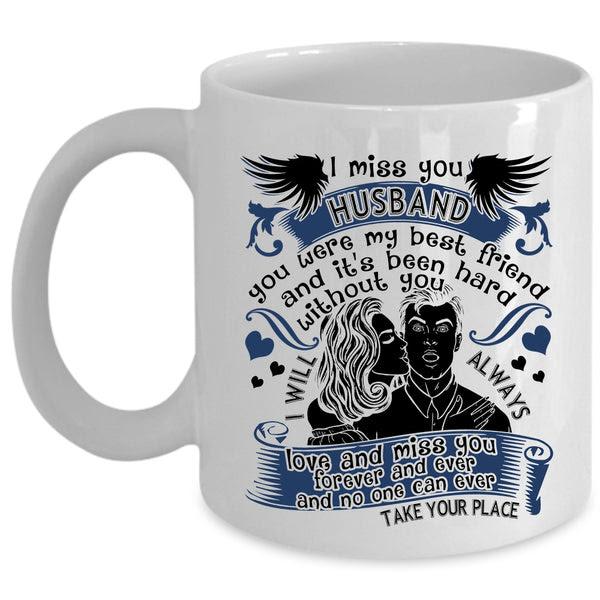 I Love My Husband Coffee Mug I Miss You Husband Cup Premium Fan Store