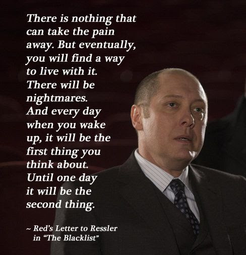 There Is Nothing That Can Take The Pain Away James Spader In
