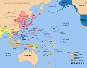 A map of the Imperial Powers of the Pacific, 1...