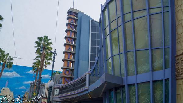 Disneyland Resort, Disney California Adventure, Hollywood Land, Frozen, Animation, Building, Ursula's Grotto