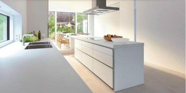 Diseños de Cocinas Blancas 10 Atractivos Diseños de Cocinas Blancas