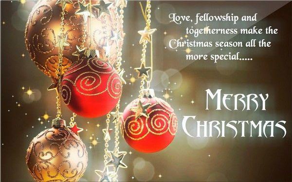 Love Fellowship And Togetherness Make The Christmas Season All The