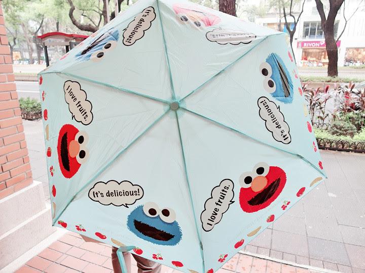 elmo cookie monster umbrella