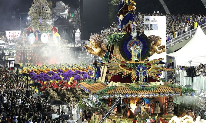 São Paulo terá hoje desfile das principais escolas de samba