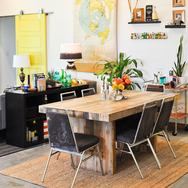 sarah-emmerson-dining-table-room-living-lorimer-sectional-yellow-eclectic-modern-west-elm