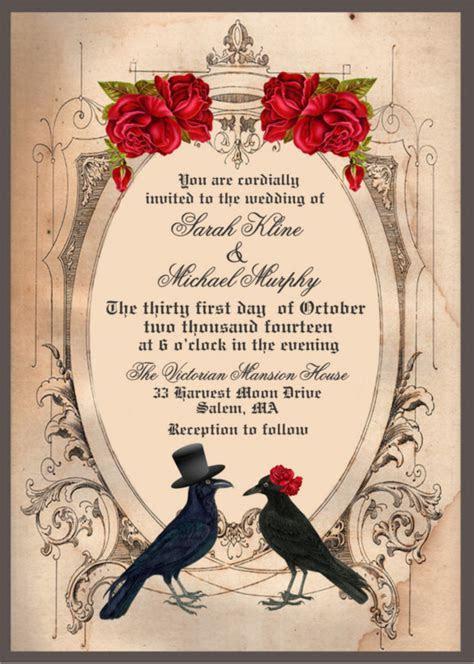 22  Halloween Wedding Invitation Templates ? Free Sample