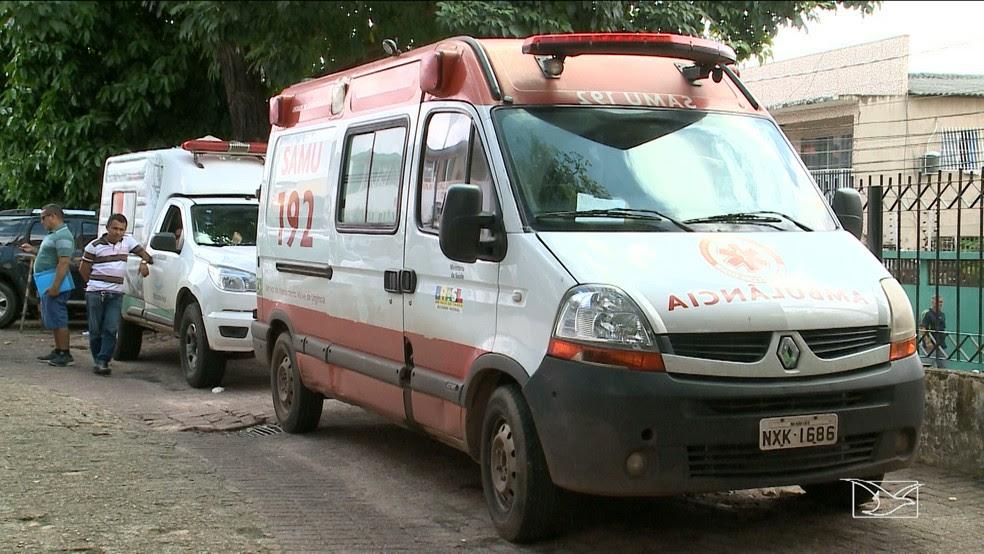 Homem que roubou a ambulância em São Luís, foi baleado ontem em uma ação contra a polícia. (Foto: Reprodução/TV Mirante)
