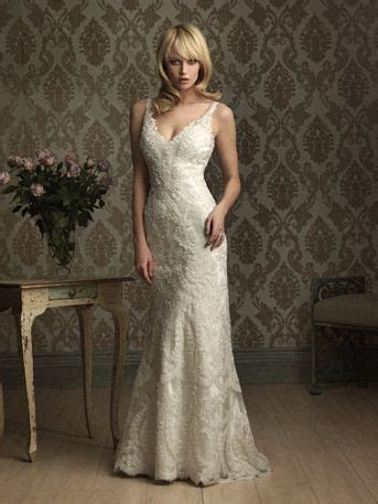Allure Bridal   8856 This slim and sexy silhouette is