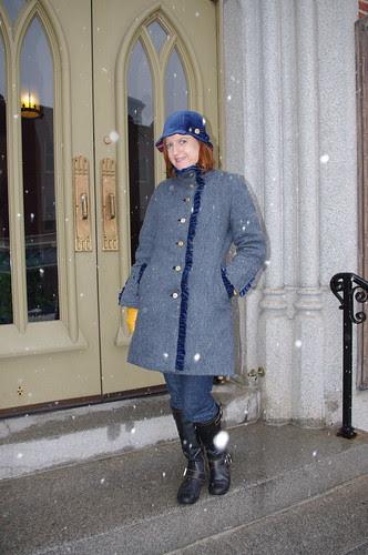Cloche and Coat