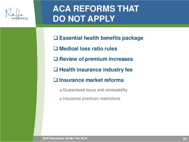 2015-02-03 Self-Insurance Under the ACA