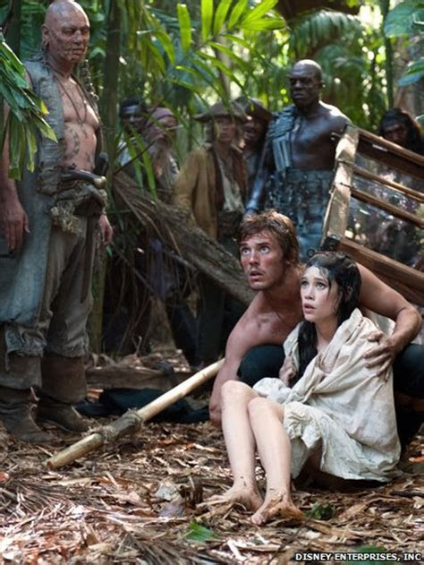 BBC News   In pictures: Sam Claflin in Pirates of the