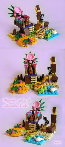 Island of Joy - friends alternate build