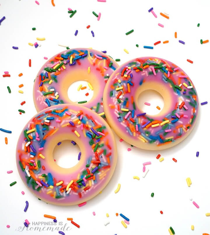 Download Free Printable: Donut Thank You Gift Tags - Happiness is Homemade