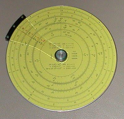 pickett circular slide rule