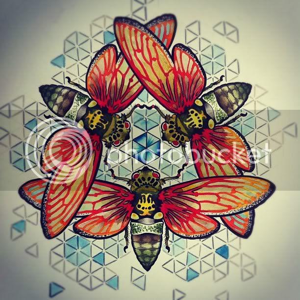chelsea rhea cicada painting