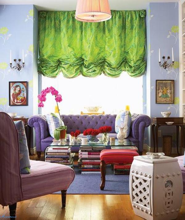 Bohemian Living Room Design Ideas | InteriorHolic.