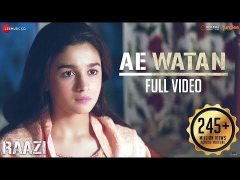 ऐ वतन / Ae Watan Lyrics Hindi & English – Raazi   Sung by Arijit Singh