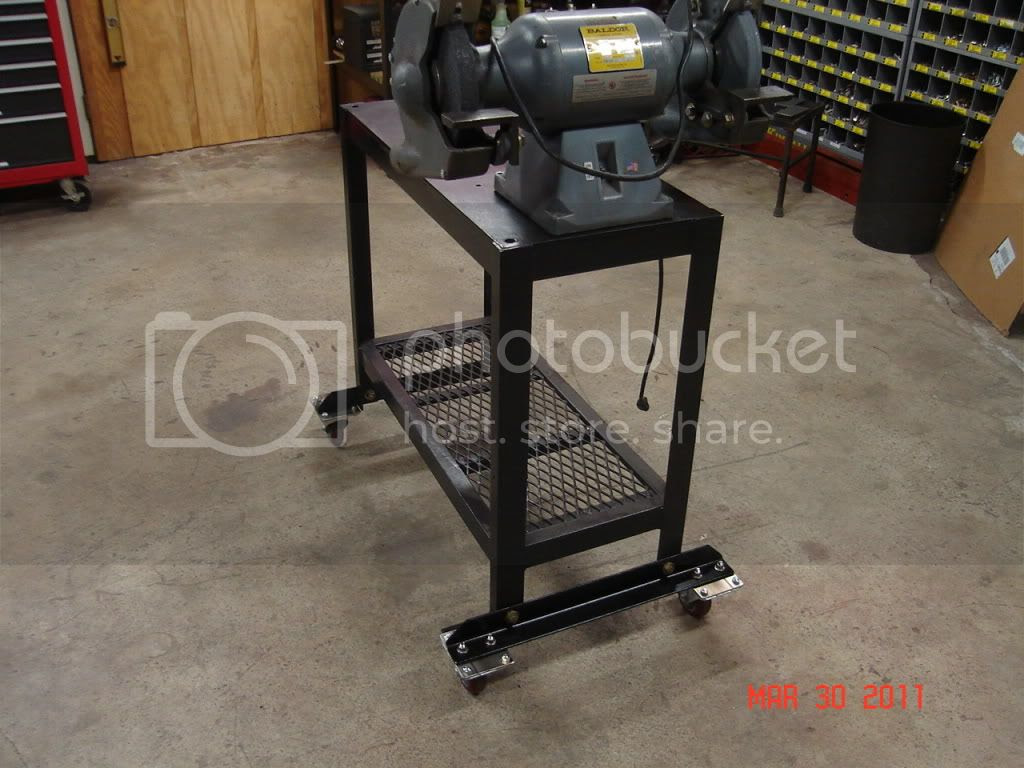 image with Woodworking Build A Bench Grinder Stand Pdf Free Download