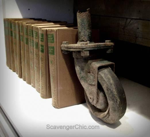 Repurposed Books and Hidden Lockbox Storage