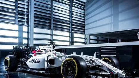 El nuevo modelo de Williams para la temporada 2016.
