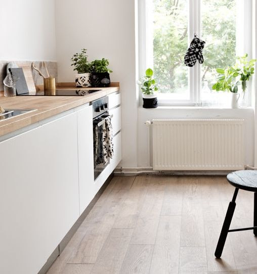 Design Of The Kitchen In White Color Without Upper Cabinets Modern Kitchen Furniture Photos Ideas Reviews
