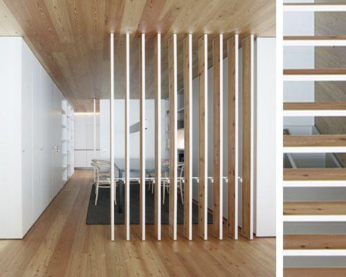 10 Ideas para separar ambientes | Tablas de madera