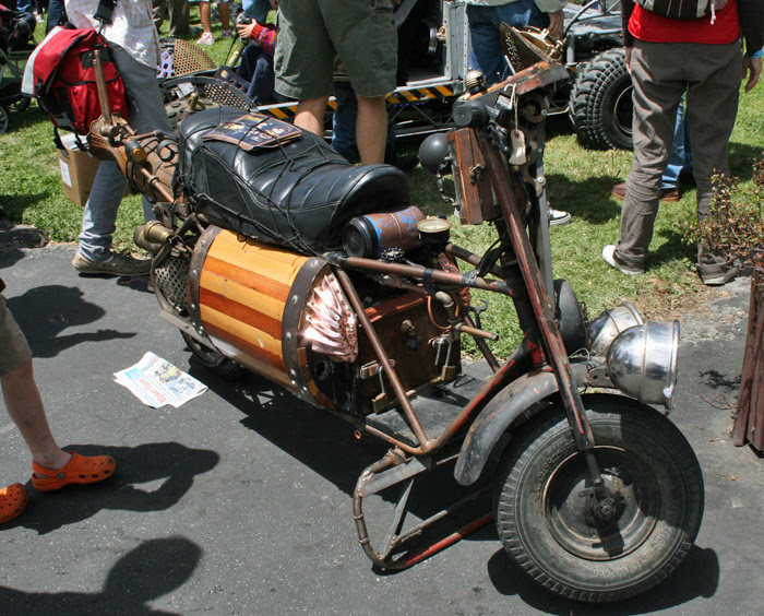 Maker Faire scooter