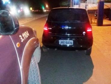 Homem estava em um carro Fox atirando em via pública - Foto: Reprodução | Site Acorda Cidade