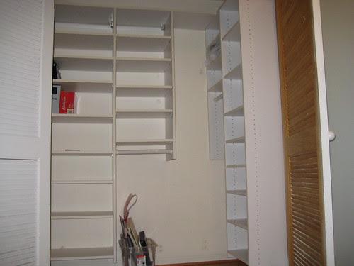 Closet in family room
