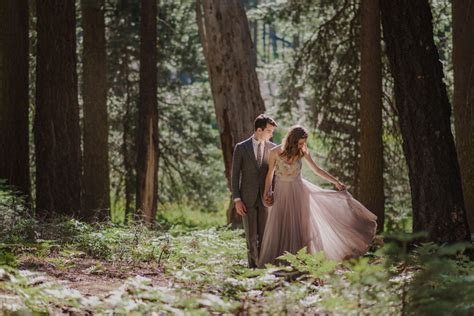 Julia and Jeffrey's Magical Sequoia National Park Wedding