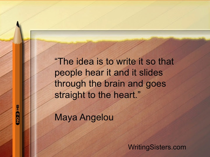 Maya Angelou Writing Sisters