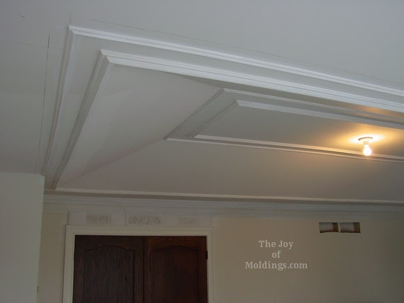 how to install tray ceiling trim molding1