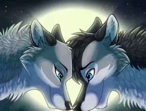 images  anime wolf  pinterest wolves