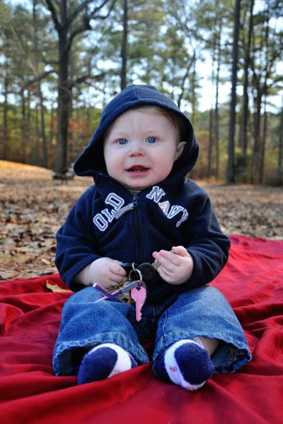 Luke at the Park