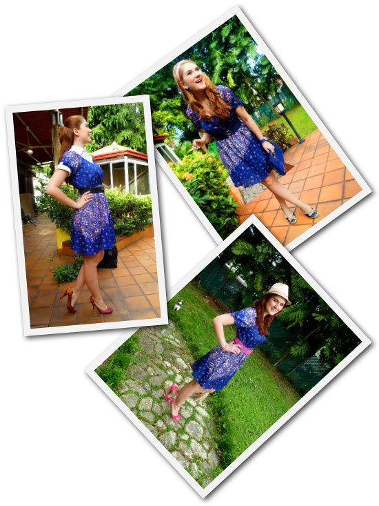 Floral Dress Remix