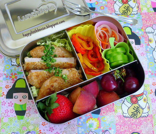 Chimichurri Pork LunchBots Bento by sherimiya ♥
