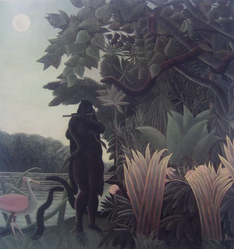 The Snake Charmer, Henri Rousseau, 1907, Musée d'Orsay, De Young Museum, San Francisco