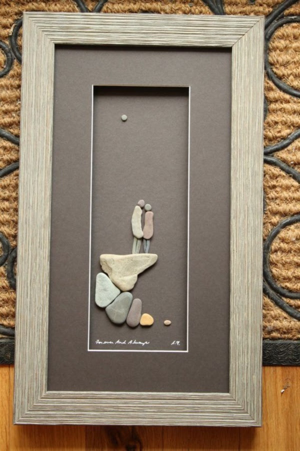 Handy Rock And Pebble Art Ideas For Many Uses16