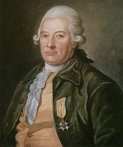 Portrait of Baron Carl Fredrik Pechlin By Per Krafft, 1774