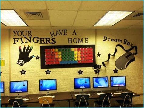 computer lab decorations home build designs classroom