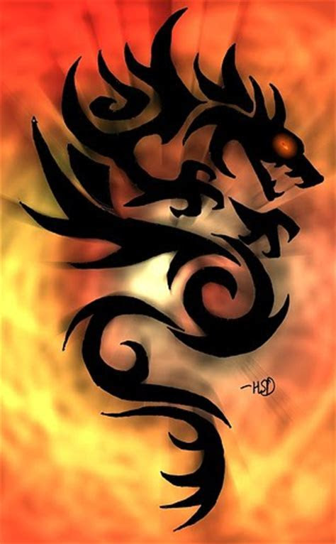 Body Painting: Cool Dragon Tattoos